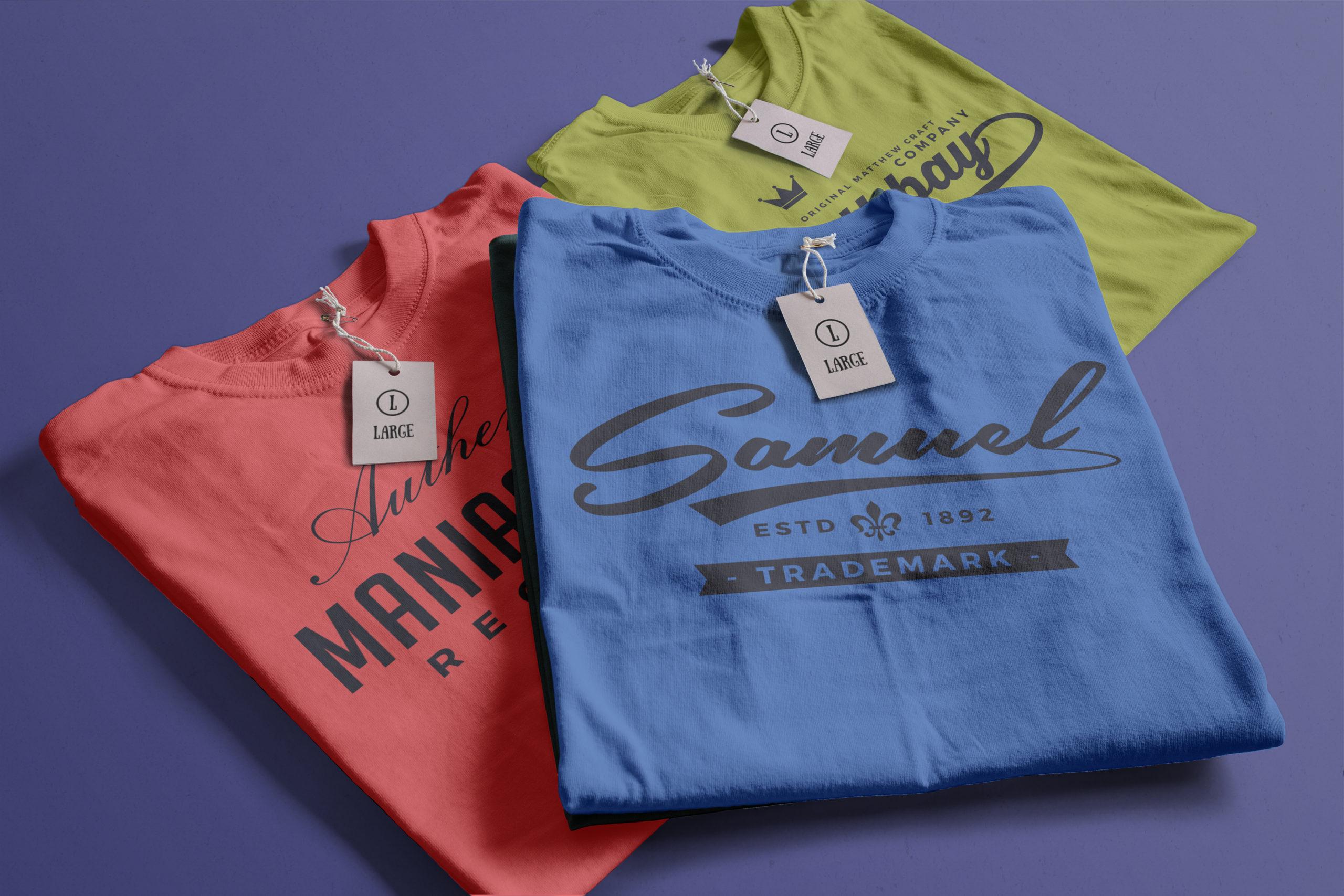 T-Shirt Fonts