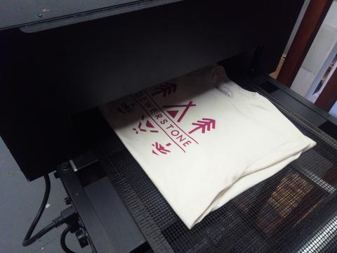 Screen Printing On Polyester Shirt