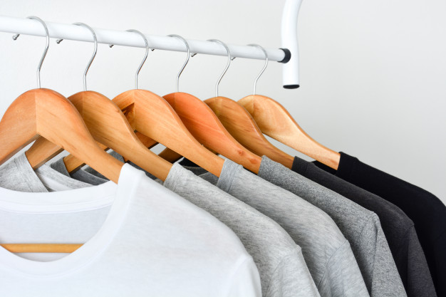 A Rack Of Sublimation Tees