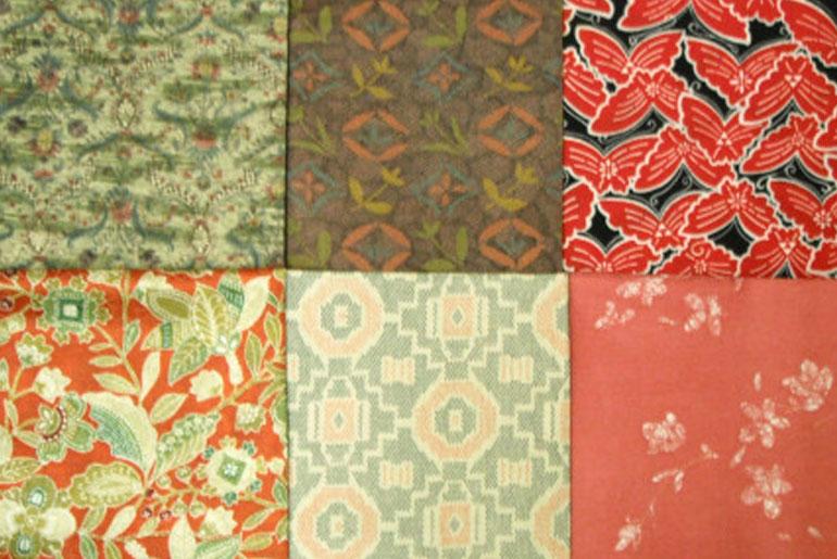 Hawaiian print fabrics